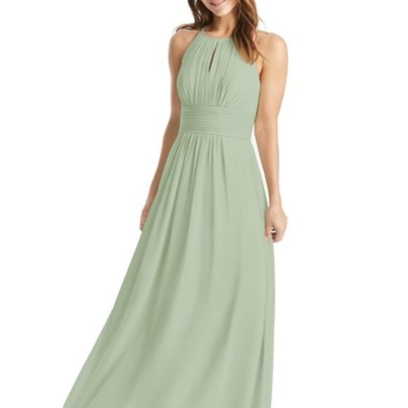 76fc7c4c2004d Azazie Bonnie Bridesmaid Dress in Dusty Sage
